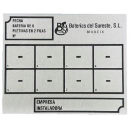 PLACA CLASIFICACION 6X2F
